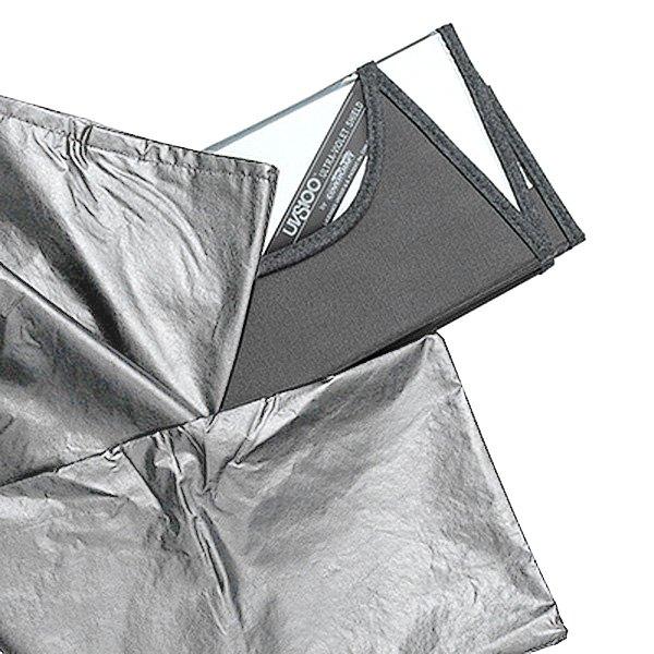 weathertech sun shade storage bag