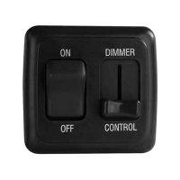 Diamond Group LDSDIM25 - Dimmer Slider LED On/Off Switch