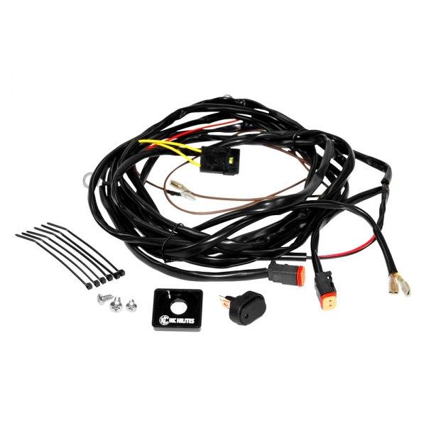 kc lights wiring harness