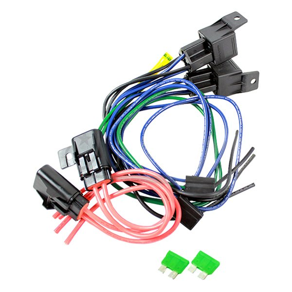 Northern Radiator® Z41030 - Dual Relay Harness for Hurricane Fans