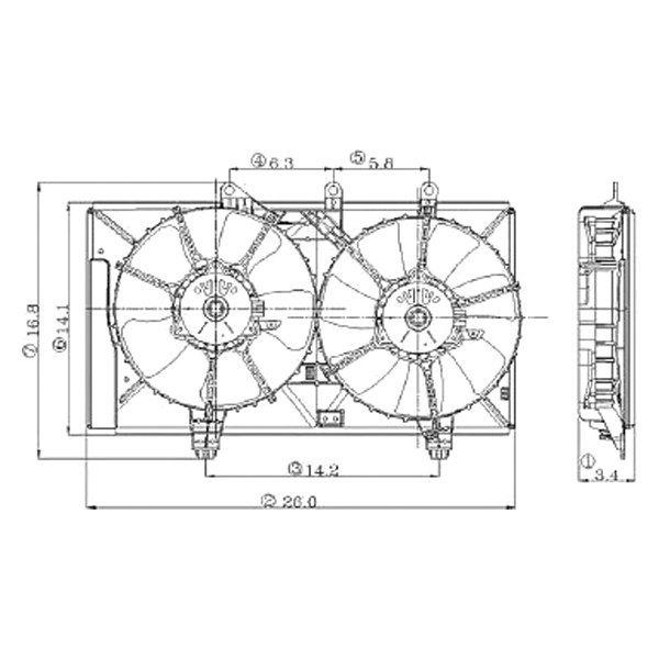 easy wiring diagram radiator fan