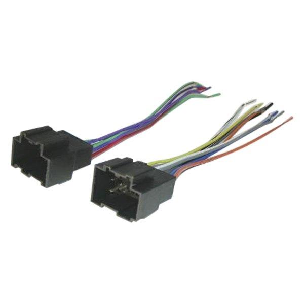 Scosche® GM18B - Aftermarket Radio Wiring Harness with OEM Plug