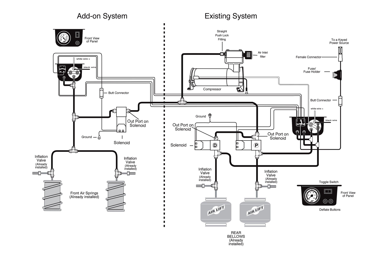 air lift compressor wiring diagram