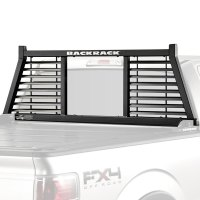 BackRack 144LV - Half Louvered Headache Rack