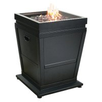 Blue Rhino - LP Gas Outdoor Fireplace - RECREATIONiD.com