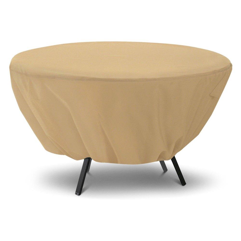 Classic Accessoriesr 58202 Ec Terrazzo Round Table Cover