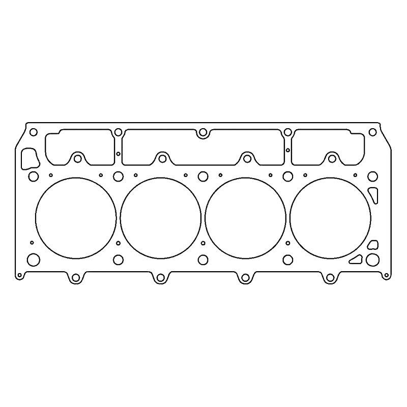 Cometic Gasket® C5936-060 - MLS-5 Left Side Cylinder Head Gasket (GM