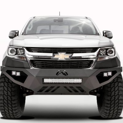Fab Fours® - Chevy Colorado 2016 Vengeance Full Width Front HD Bumper