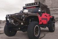 Go Rhino - Jeep Wrangler 2007-2016 SRM100 Roof Rack