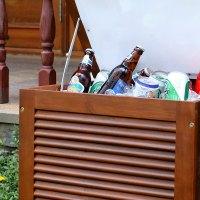 Wood Patio Cooler | Outdoor Goods