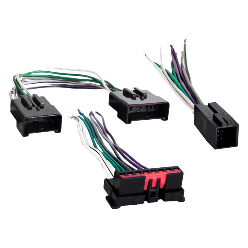 Metra® 70-5515 - Aftermarket Radio Wiring Harness with OEM Plug and