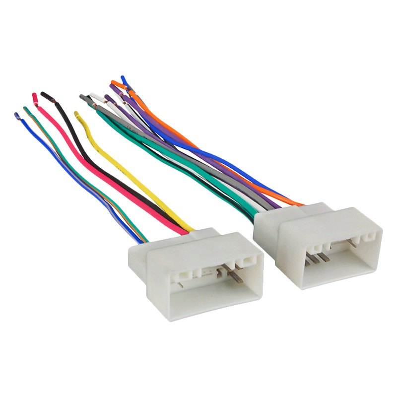 Metra® 70-7304 - Aftermarket Radio Wiring Harness with OEM Plug