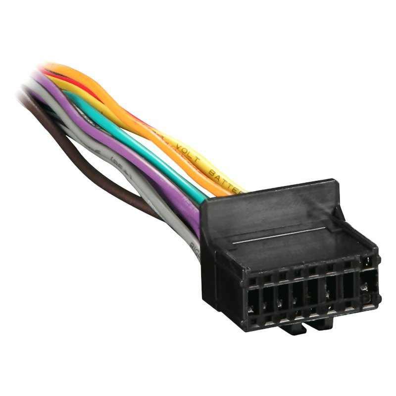 Metra® PR01-0001 - 16-pin Wiring Harness with Aftermarket Stereo