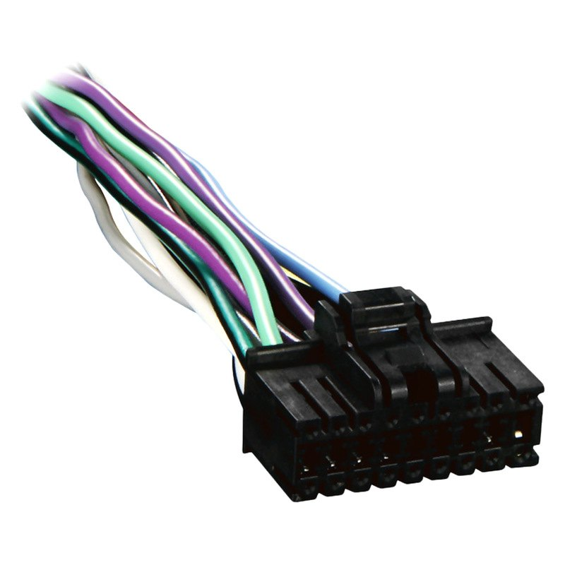Metra® SY18-0001 - 18-pin Wiring Harness with Aftermarket Stereo