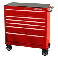 "OEM Tools 24575 - Red 36"" 6 Drawer Roller Cabinet"