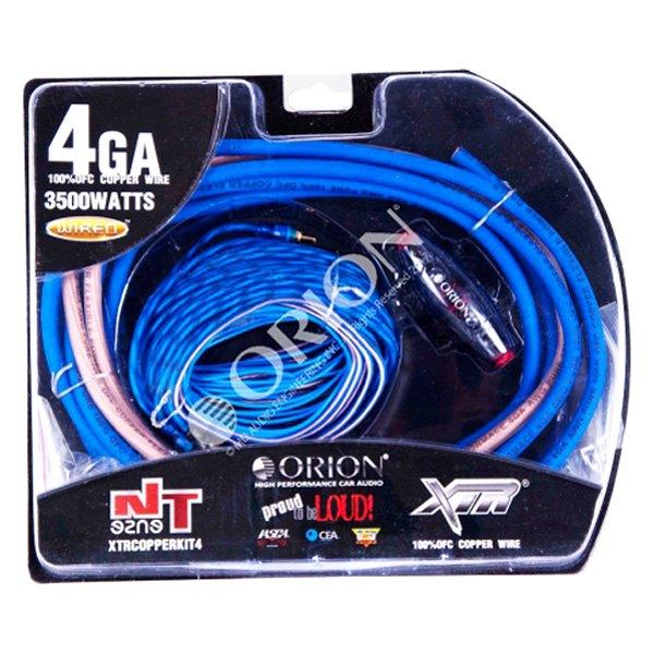 Orion® - XTR Series Amplifier Wiring Kit