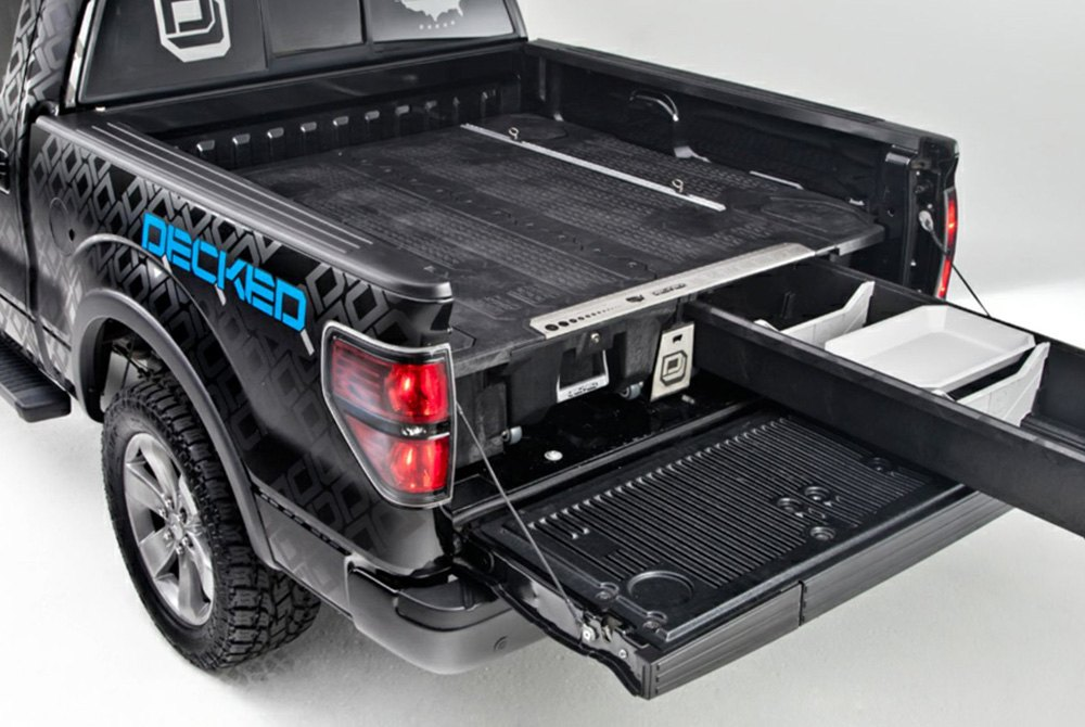 Truck Bed Accessories Tool Boxes, Bed Liners, Racks  Rails