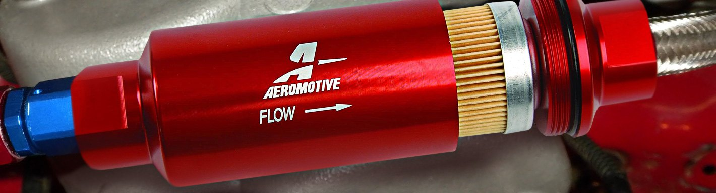Performance Fuel Filters High Flow, In-Line, Canister \u2013 CARiD
