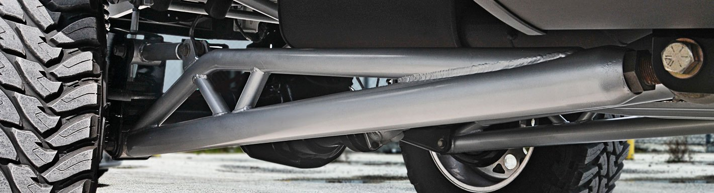 Chevy Silverado Traction Bars  Ladder Bars \u2014 CARiD