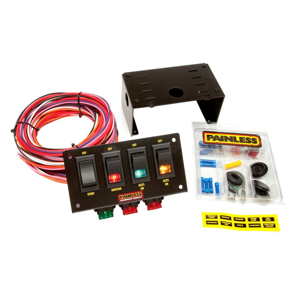Painless Wiring Com Switch Panel Auto Electrical Race Car Harness 50003 Universal Performance U00ae