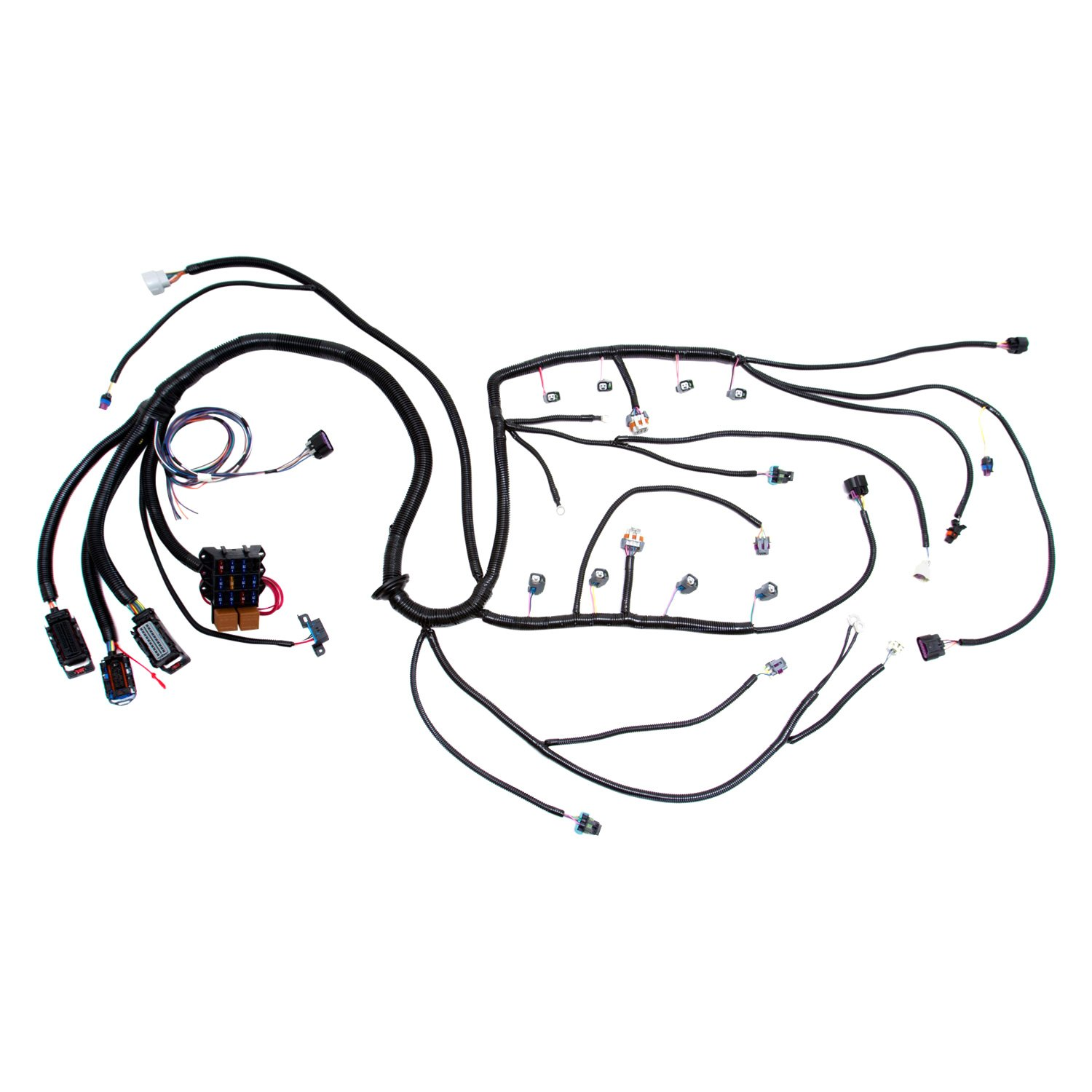 wiring harness for truck camper