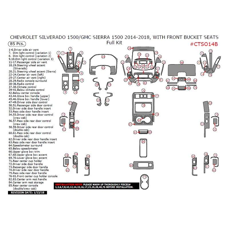 chevy silverado dash kits
