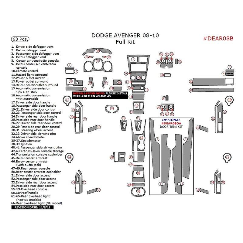 08 avenger fuse box diagram