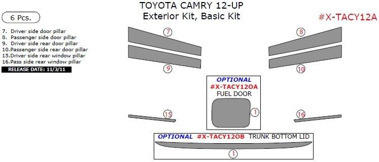 2012 camry performance upgrades