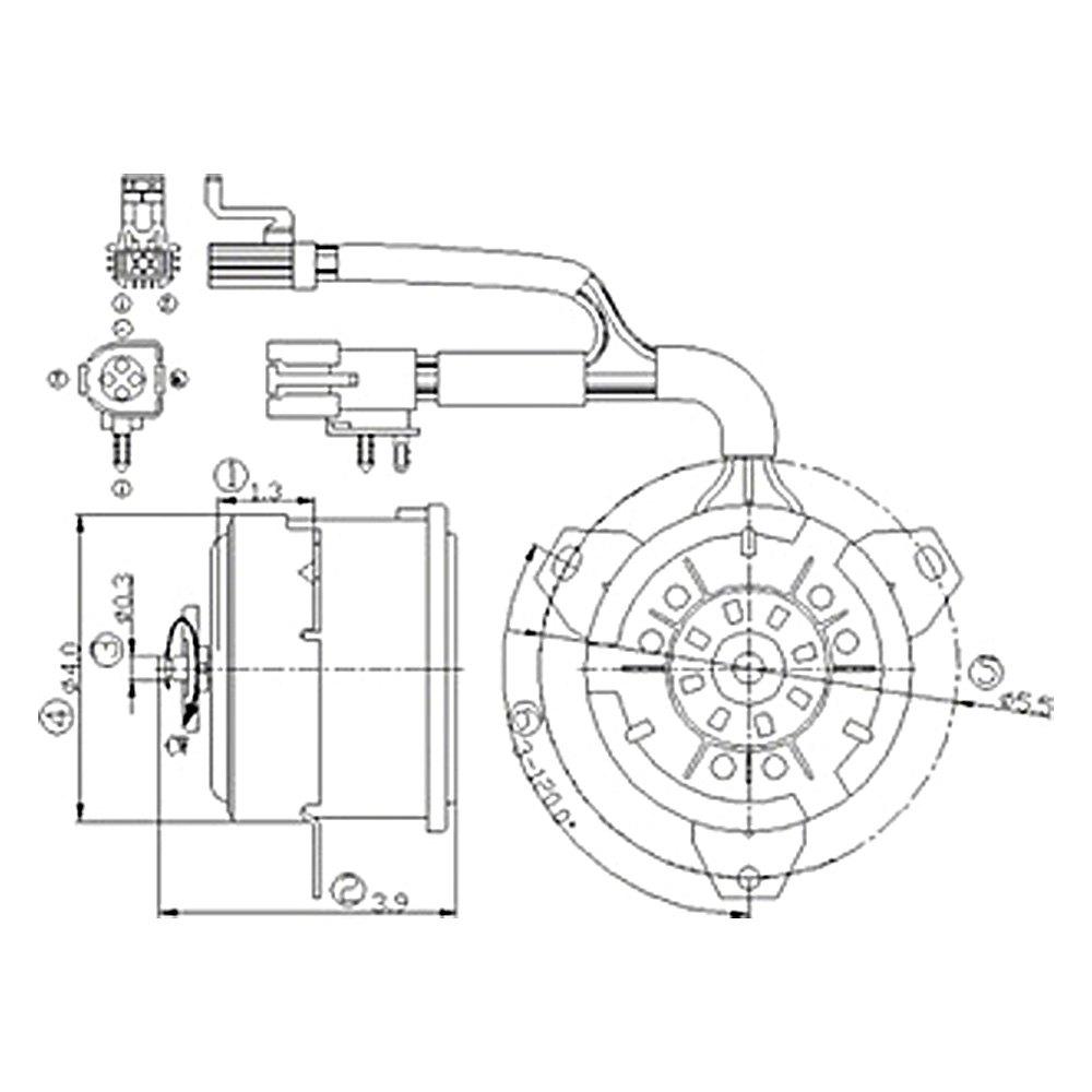 emerson condenser fan motor schema cablage