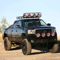 """Smittybilt 40504 - 4"""" x 5"""" Defender Roof Rack without Mounts"""