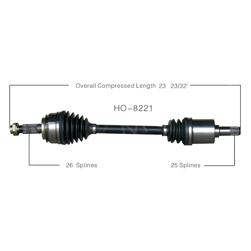 honda civic cv axle
