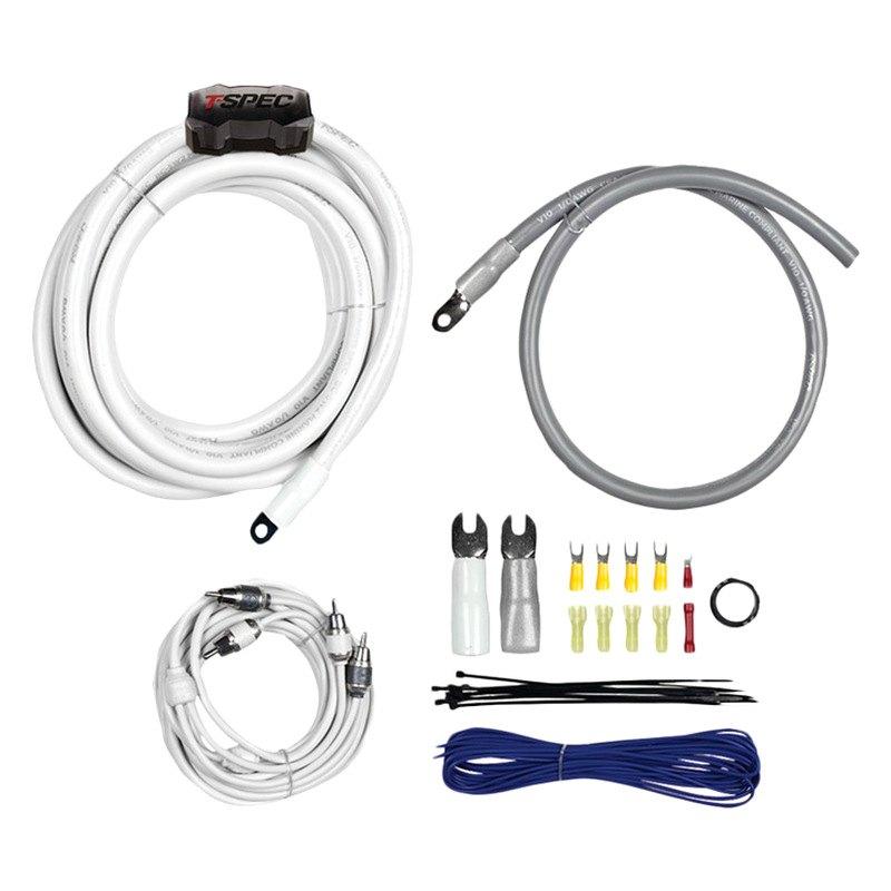 0 gauge amplifier wiring kit