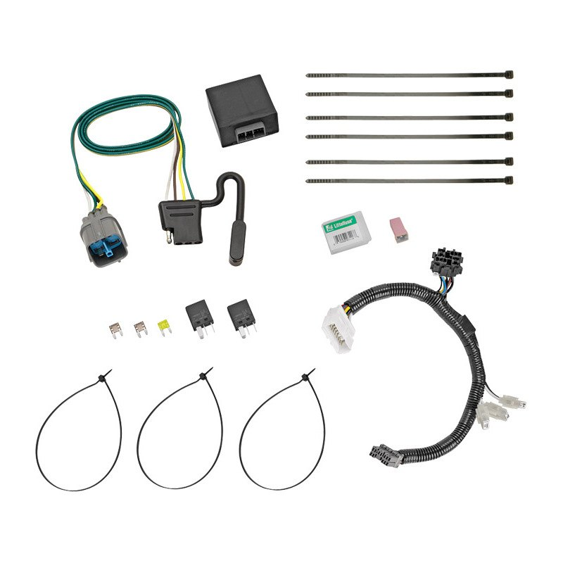 2014 honda pilot towing wiring harness