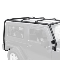 TrailFX - Jeep Wrangler 2017 Black Roof Rack