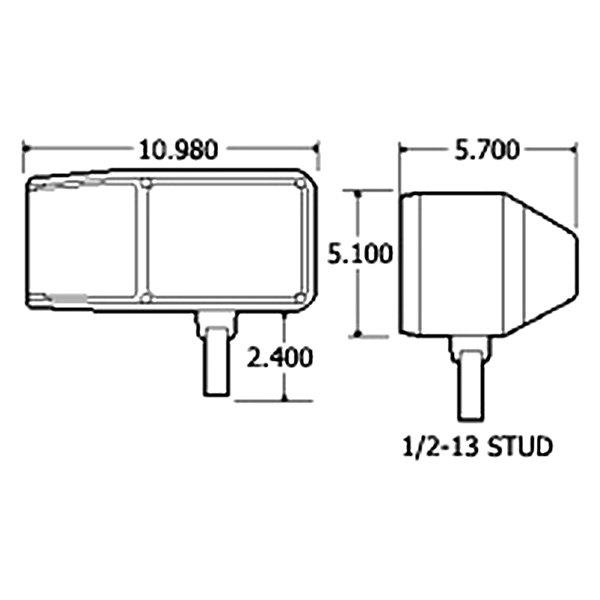 Truck-Lite® - Snow Plow ATL Wiring Harness