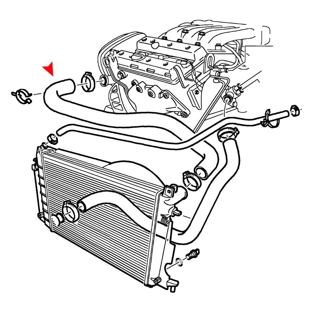 saab engine coolant low