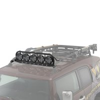 "Warrior - Roof Rack Light Bar for 5x6.75"" Lights 