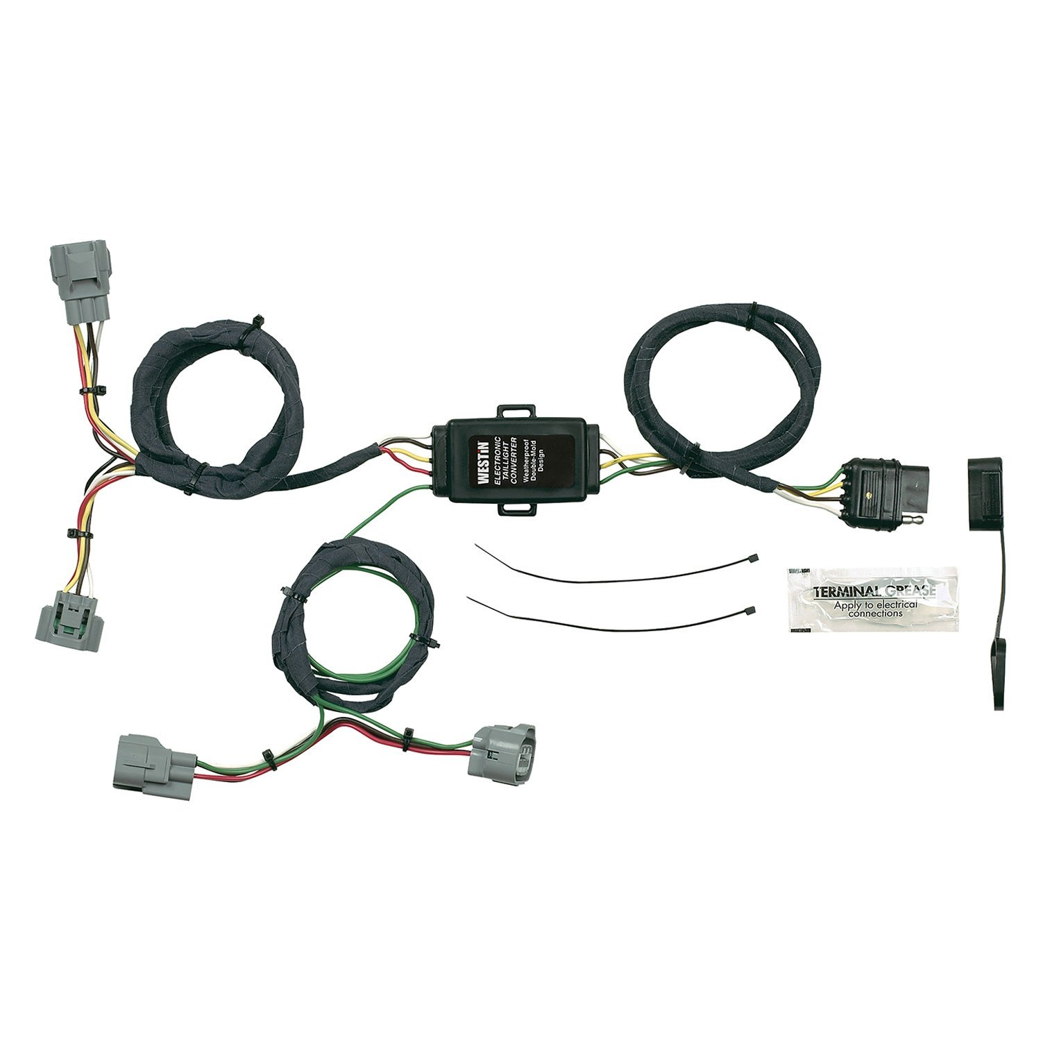 t connectors wiring harness
