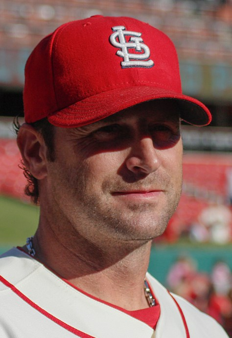 Mike Matheny MLB Baseball Cardinals