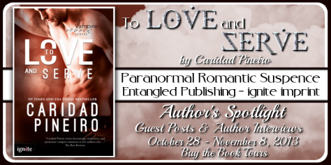 TO LOVE AND SERVE Vampire Romantic Suspense