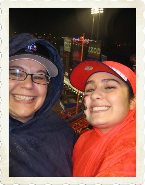 Sam & Caridad at Mets Game Shea Stadium