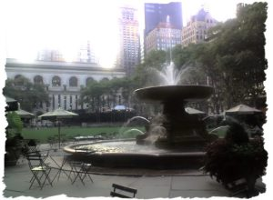 Bryant Park in the Morning Light