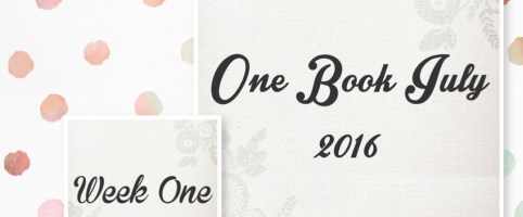 One Book July 2016 Week 1 – Planner Setup – Pocket Pink Mr. Darcy Deluxe from Chic Sparrow