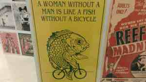 It seems like the act of comparing women to fish and men to bicycles isn't entirely accurate.
