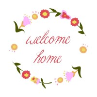 free printable: welcome home