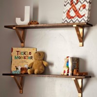 DIY Rustic Shelves Ikea EKBY hack