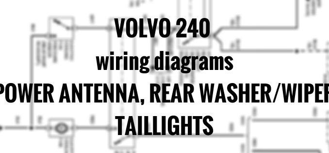 Antenna Wiring Diagram Volvo - Wiring Diagram Progresif