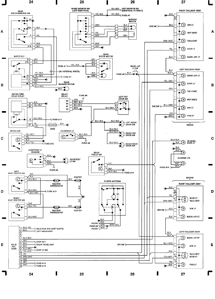1991 volvo 240 wiring diagrams