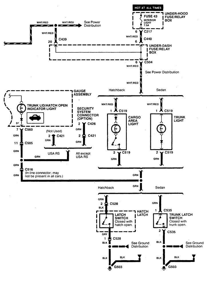 1994 integra stereo wiring diagram