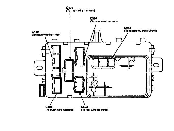 fuse box diagram for 1995 acura integra